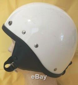 Vintage 1960's 1970's BUCO TRAVELER Motorcycle Helmet. Must See