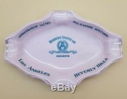 Vintage Ambassador Hotel Los Angeles Beverly Hills Ashtray SCARCE MUST SEE