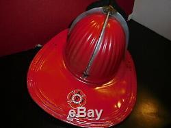 Vintage Cairns Aluminum Fire Helmet-iaff-must See