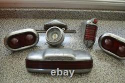 Vintage Collection Of Tail Lights (fluid Drive), Speedometer, Etc! Must See