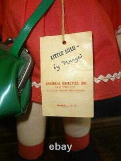 Vintage Georgene Novelties Little LuLu Doll! MUST SEE