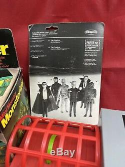 Vintage Remco Monster Collection With Rare Monsterizer & Box Must See Htf Loose