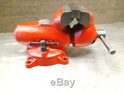 Vintage York 100 Bullet Bench Vise, New Collector Condition! Must See Video