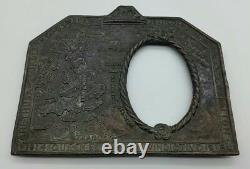 WW1 British Home Front Service Picture Frame Extremely Interesting MUST SEE