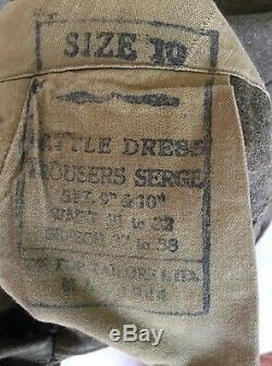 WW2 CANADIAN ARMY BATTLEDRESS'HASTY Ps' (With history) MUST SEE