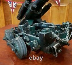 WW2 German British American Anti Aircraft Gun LARGE Handmade Model MUST SEE