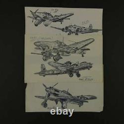 WW2 RAF Group Medals, Ephermera and huge quantity of research MUST SEE
