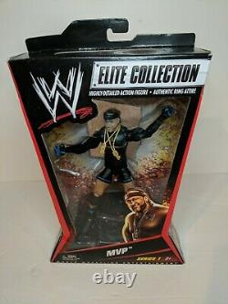 WWE Elite Collection Series 1 MVP Must see! Great condition! Very Rare