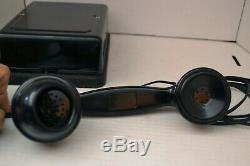 Western Electric B1 Round Base Telephone Unbelievable Original Must See