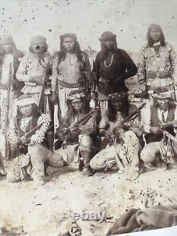 White Mountain Apache Co Indian Scouts Photograph A. F. Randall Must See