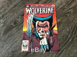 Wolverine #1 High Grade NM Frank Miller Limited 1982 Must See Pics