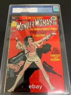 Wonder Woman #196 Cgc 8.5 (dc, 1971) Bondage Cover! Cheetah! Must-see