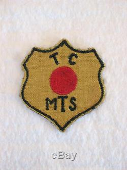 Wwii Original Red Ball Express Uniform Sleve Patch Nice Must See