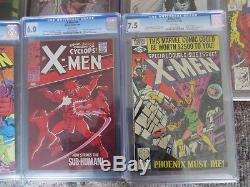 X-men Instant Cgc Collection Includes #41 All Shown Must See