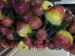 XXL Jay Willfred Pyramid Fruit Apples Berrys. HEAVY- 29.5 POUNDS -MUST SEE