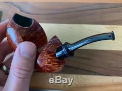 Yeti Pipes Micah Cryder Blowfish with Plateau Incredible Grain Must See Unsmoked