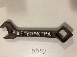 York Cutout Wrench Rare Must See