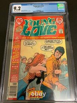 Young Love #123 Cgc 9.2 (dc, 1977) Htf In High Grade! Must-see