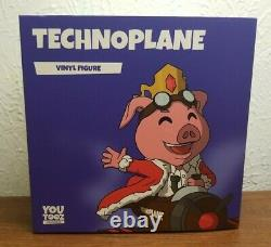 Youtooz- Technoplane BRAND NEW Never Opened Unscratched barcode RARE Must See