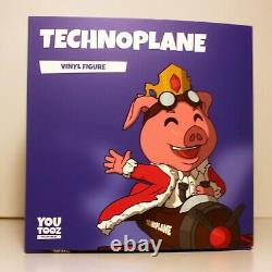 Youtooz Technoplane BRAND NEW Unscratched barcode RARE Must See